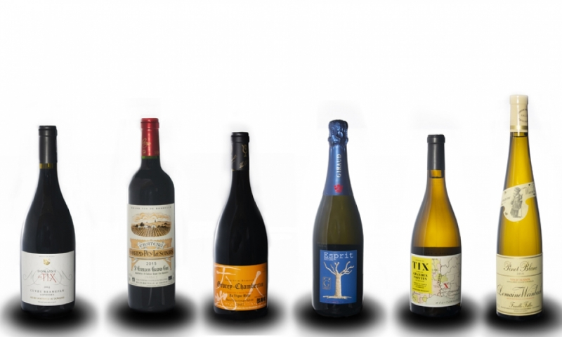 French wine selection