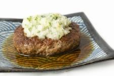 Japanese-style hamburger steak (Frozen food)