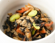 Hijiki no nitsuke (Frozen food)