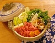 Dashi nabe with【Ozaki Wagyu】