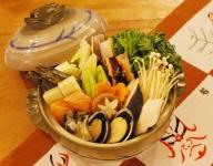 Dashi nabe with【seafood】