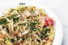 Okonomi-yaki (shrimp)